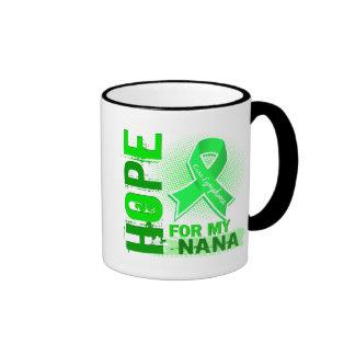 Hope For My Nana Lymphoma Ringer Mug