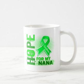 Hope For My Nana Lymphoma Basic White Mug