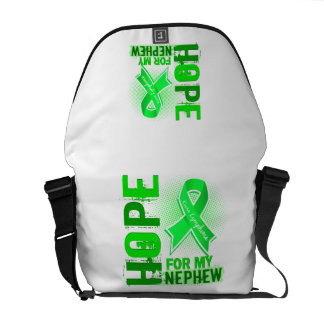 Hope For My Nephew Lymphoma Courier Bags