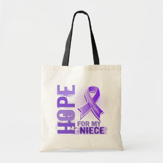 Hope For My Niece Hodgkins Lymphoma Bags