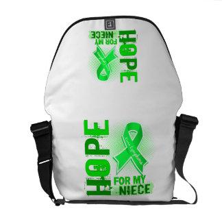 Hope For My Niece Lymphoma Messenger Bag