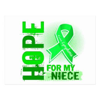 Hope For My Niece Lymphoma Postcard