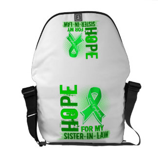 Hope For My Sister-In-Law Lymphoma Courier Bags