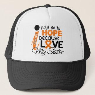 Hope For My Sister Multiple Sclerosis MS Trucker Hat
