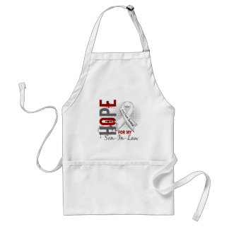Hope For My Son-In-Law Lung Cancer Apron