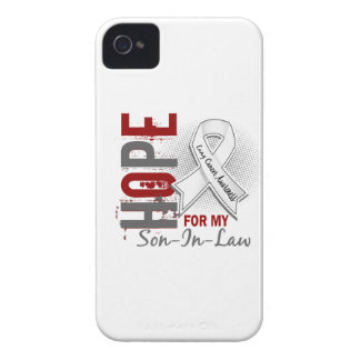 Hope For My Son-In-Law Lung Cancer iPhone 4 Case-Mate Case