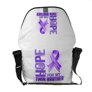 Hope For My Twin Brother Hodgkins Lymphoma Courier Bag
