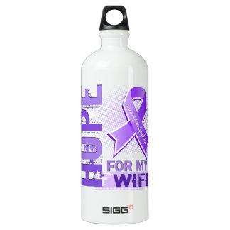 Hope For My Wife Hodgkins Lymphoma SIGG Traveller 1.0L Water Bottle