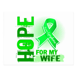 Hope For My Wife Lymphoma Postcard