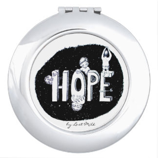 Hope for on the way compact mirrors
