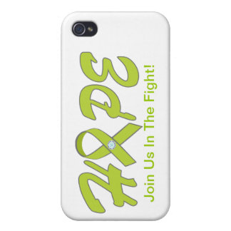 HOPE-Green -Ribbon Case For iPhone 4