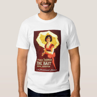 Hope Hampton The Bait 1921 silent movie poster T-shirt