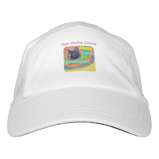 Hope Healing Church Christian Cat Baseball Cap Hat