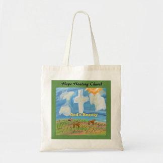 Hope Healing Church Christian God Beauty Tote Bag