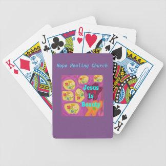 Hope Healing Church Christian Jesus Playing Cards