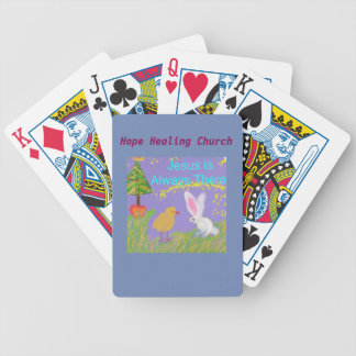 Hope Healing Church Christian Jesus Playing Cards