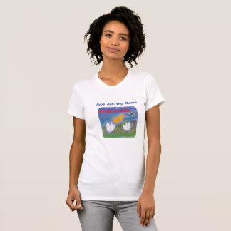 Hope Healing Church Christian Jesus Womens T-Shirt