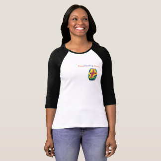 Hope Healing Church Christian Women Baseball Shirt