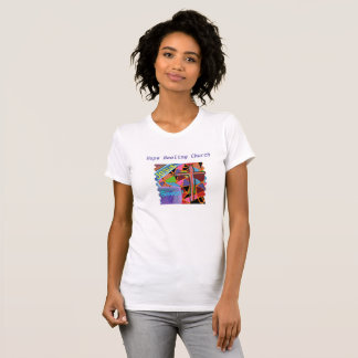 Hope Healing Church Christian Womens T-Shirt Jesus