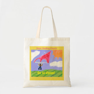 Hope Healing Church Go to Jesus Christian Tote Bag