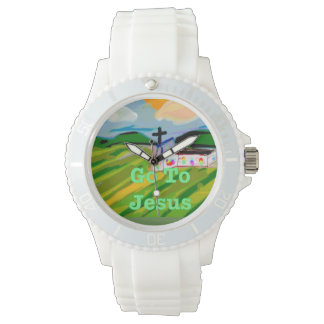 Hope Healing Church Go to Jesus Silicon Watch