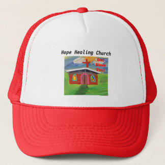 Hope Healing Church God Bless You Trucker Hat