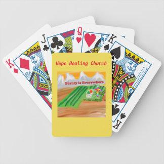 Hope Healing Church Jesus Christian Playing Cards