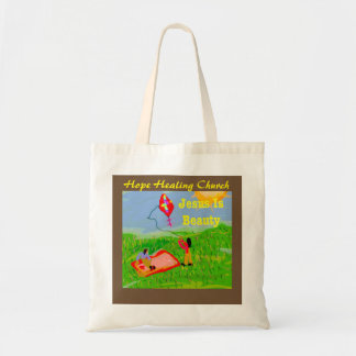 Hope Healing Church Jesus is Beauty Tote Bag