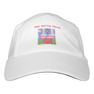 Hope Healing Church Jesus Loves Saves Baseball Hat