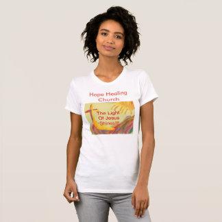 Hope Healing Church Womens Christian Jesus Tshirt