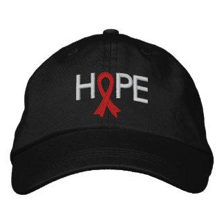 HOPE - Heart Disease Embroidered Baseball Caps