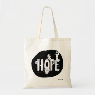 Hope - hope for on the way tote bag