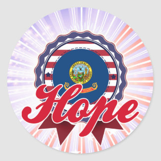 Hope, ID Sticker
