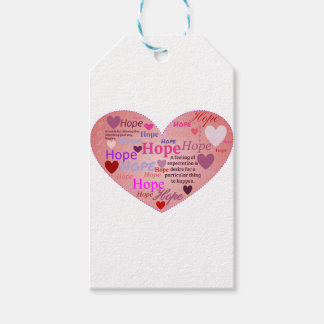 Hope in a Heart Gift Tags