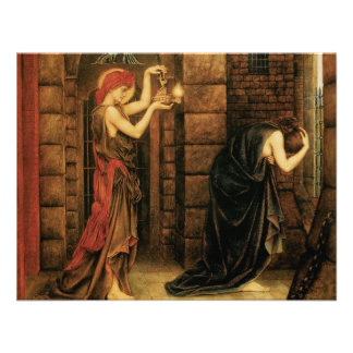 Hope in a Prison of Despair by Evelyn De Morgan Personalized Invitation