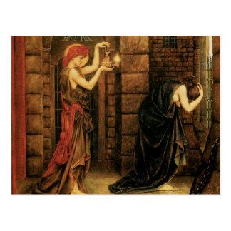 Hope in a Prison of Despair by Evelyn De Morgan Postcard