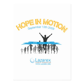 Hope In Motion Postcard