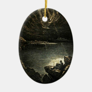 Hope in the Darkness Illustration Christmas Ornament