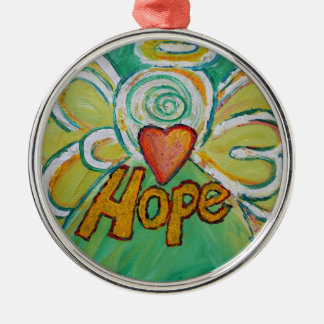 Hope Inspirational Angel Word Ornament
