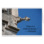 """""""Hope is a waking Dream"""" Aristotle Greeting Cards"""