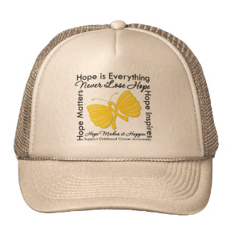 Hope is Everything - Childhood Cancer Awareness Cap