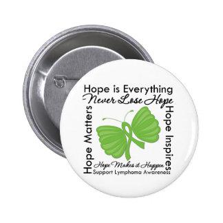 Hope is Everything - Lymphoma Awareness 6 Cm Round Badge