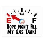 Hope is on Empty - Anti Barack Obama Post Cards