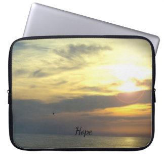"""Hope is on the Horizon"" Laptop Sleeve"
