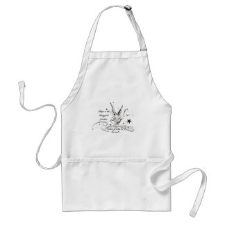Hope is the Thing With Feathers Standard Apron