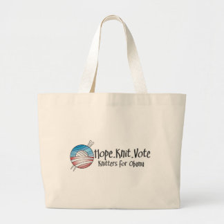Hope Knit Vote, Tote