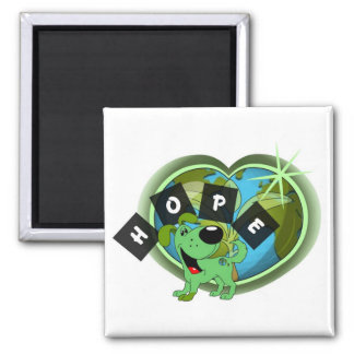 Hope Leaf - Earth Day Fridge Magnet