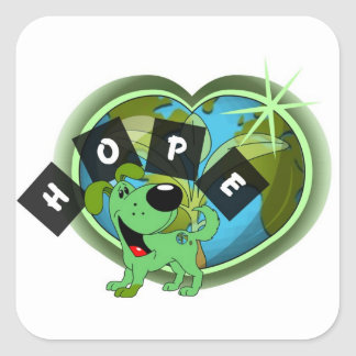 Hope (Leaf - Earth Day) Sticker