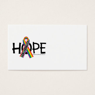 HOPE LGBT Equality Business Card