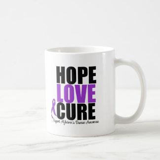 Hope Love Cure Alzheimer's Disease Mug